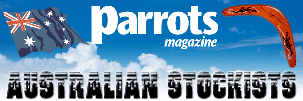 Australian stockists of Parrots magazine