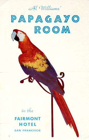 Collecting parrots on postcards