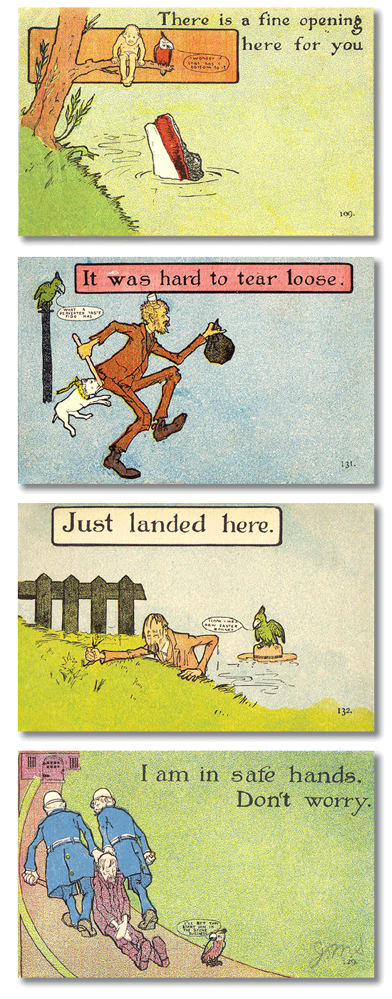 Early comic postcards